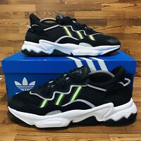 Adidas Ozweego Reflective (Men's Size 9.5) Running Shoes Black Athletic Sneakers