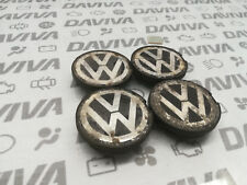 Unico VW ruota centro CAP CON LOGO VW 6N0601171 BXF NUOVO Originale VW Parte