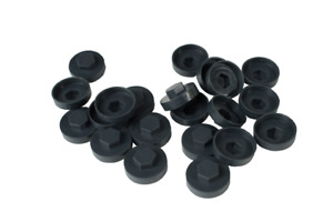 TEK Screw Colour Caps (Pack of 100) Roofing Sheet Colour caps for screws