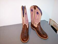 ARIAT ATS Heritage Leather Western Cowboy  Boots Woman  6 1/2B