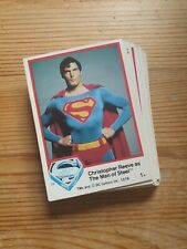 Superman The Movie Trading Cards - TMS - 1978 - Various
