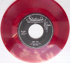 the TOYS Baby Toys / Happy Birthday Broken Heart JAPAN Red Vinyl POPCORN 45 e699