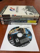 PS2 5 Game Lot Used & Tested Gran Turismo 4 Tom Clancy King Kong Playstation 2