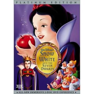 Snow White and the Seven Dwarfs (DVD, 2001, 2-Disc Set, Special Edition) FREE SH