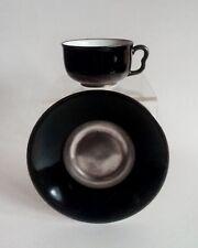 Otto Prutscher 'Metropolis' art-deco teacup w saucer 1935, very rare