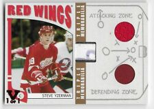 04/05 ITG FRANCHISES US WEST 'FINAL VAULT' TRIPLE MEM GOLD Steve Yzerman 1/1
