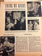 June Haver, Three Page Vintage Clipping