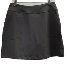 Footjoy Skort Women's Small Gray Pull On Style Tennis Skirt
