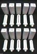 10 x Newlec CFL 4 Pin 32W Lamps Cool White 4000K G24q-3 8000 Hours