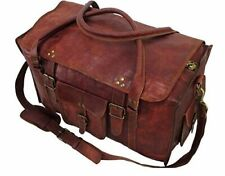 28 Inch Mens Retro Style Carry on Luggage Flap Duffel