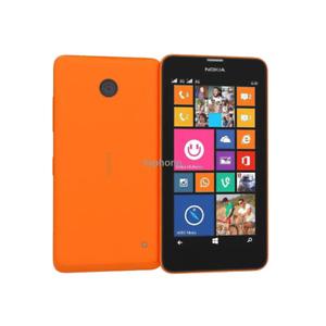 "Unlocked Nokia Lumia 635 Windows 4.5"" Quad Core 8GB ROM 5MP 3G LTE Original GPS"