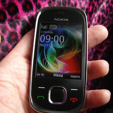 Nokia 7230 graphite (sans simlock) 3g 3,2mp radio 4 volume mp3 only English Menu