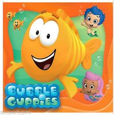 BUBBLE GUPPIES LUNCH NAPKINS BIRTHDAY PARTY supplies FREE SHIPPING