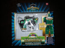 Power Rangers Zeo Megazord transformateur Green Ranger