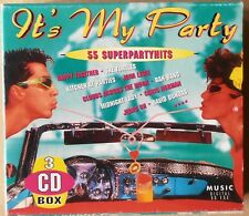 It's my Party - 55 Superpartyhits - The Turtles, David Dundas u.a. - 3 CDs
