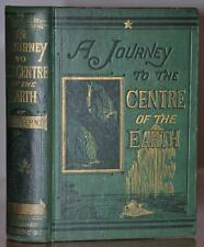 FIRST STATE, 1ST/1ST EDITION~ A JOURNEY TO THE CENTER OF THE EARTH ~ JULES VERNE