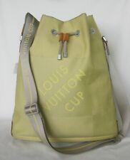 LTD EDITION LOUIS VUITTON CUP GEANT CANVAS VOLUNTEER BAG RETAIL $1350