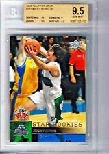 2009-10 upper deck #237 SP RICKY RUBIO rookie card BGS Gem Mint w/10 centering
