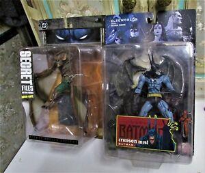 Lot of 2: Batman Crimson Mist & Man Bat Secret Files--NIB