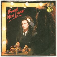 "DEAD OR ALIVE BRAND NEW LOVER + IN TOO DEEP (LIVE) 7"" SINGLE PIC SLEEVE 1986 EX/"