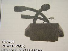 POWER PACK 18-5760 FITS JOHNSON EVINRUDE 582138 582400 582642 582556 OUTBOARD
