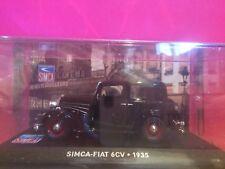 SUPERBE SIMCA FIAT 6 CV 1935 1/43 BOITE SOUS BLISTER R2