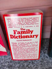 The Family Dictionary, 60.000 References