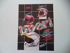 advertising Pubblicità 1991 CASCO BOERI FK/FK JET/LE MANS ZM 1020