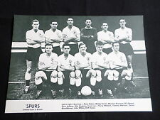 TOTTENHAM HOTSPUR -FOOTBALL TEAM PICTURE - 1 PAGE - CLIPPING/CUTTING