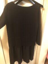 Cos Layered Wool Dress Sz Xs