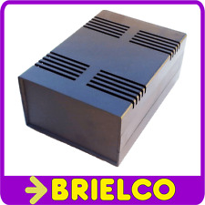 CAJA DE PLASTICO ABS CON AIREACION ELECTRONICA CA127N NEGRA 180X125X75MM BD9730