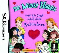 Nintendo DS Spiel - Die Wilden Hühner & die Jagd nach dem Rubinherz mit OVP