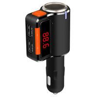 G25C FM Transmitter Bluetooth Freisprechanlage 2x USB Slot + Zigarettenanzünder