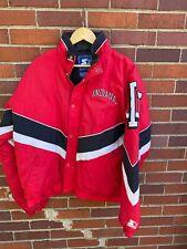 VTG Indiana Hoosiers Starter 90s Jacket Coat size Medium oversized