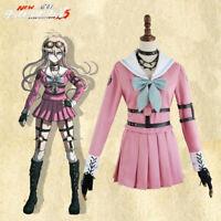 Anime Danganronpa V3: Killing Harmony Iruma Miu Cosplay Costume Full Set