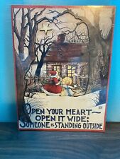 """""""Cards To Keep� Wooden Christmas Card Designed By Mary Engelbright"""
