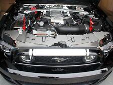Mustang V8 & GT 5.0 Front Header Plate Polished - 2013-2014