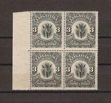 TANGANYIKA 1922 SG 85 MNH Block Cat £240