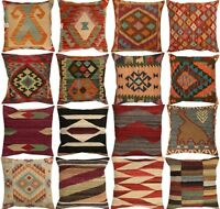 Handmade Kilim Cushion Covers - Vintage look  Spring & Summer Sale
