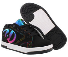 Heelys Propel 2.0 Skate Shoes Womens 5 / Youth 4 - Black Rainbow Metallic 778044
