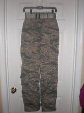 NWOT US Air Force  Women's Military Camo Trousers Pants Sz 2R Tiger Stripe