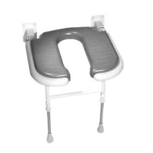 AKW 04100 - 04100P - 04200P STANDARD HORSESHOE 4000 SERIES SHOWER SEAT WITH LEGS