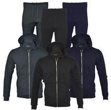 Unbranded Cotton Blend Tracksuit with Pockets for Men