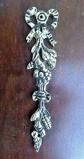 Ancien bronze de décoration 'palmette  , style Louis XVI