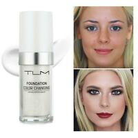 TLM Color Changing Foundation Makeup Base Face Liquid Cover Concealer