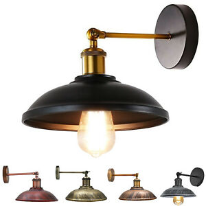 Rustic Industrial Wall Sconce Adjustable Wall Light Fitting Sconce Vintage Lamps