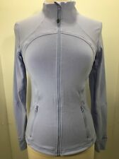 Lululemon Define Forme Jacket Light Purple Lavender Yoga Run Athletic Sz 8