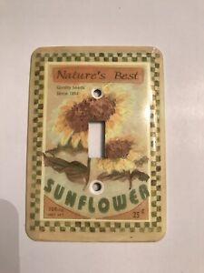 Nature's Best Sunflower Light Switch
