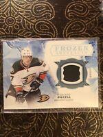 2017-18 Artifacts Frozen Artifacts Rickard Rakell Hockey NHL FA-RR Jersey Card