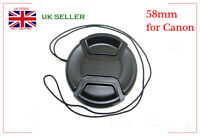 High Quality LC-58 Centre Pinch lens cap for Canon Lenses EF 24mm f 2.8, 28m 1.8